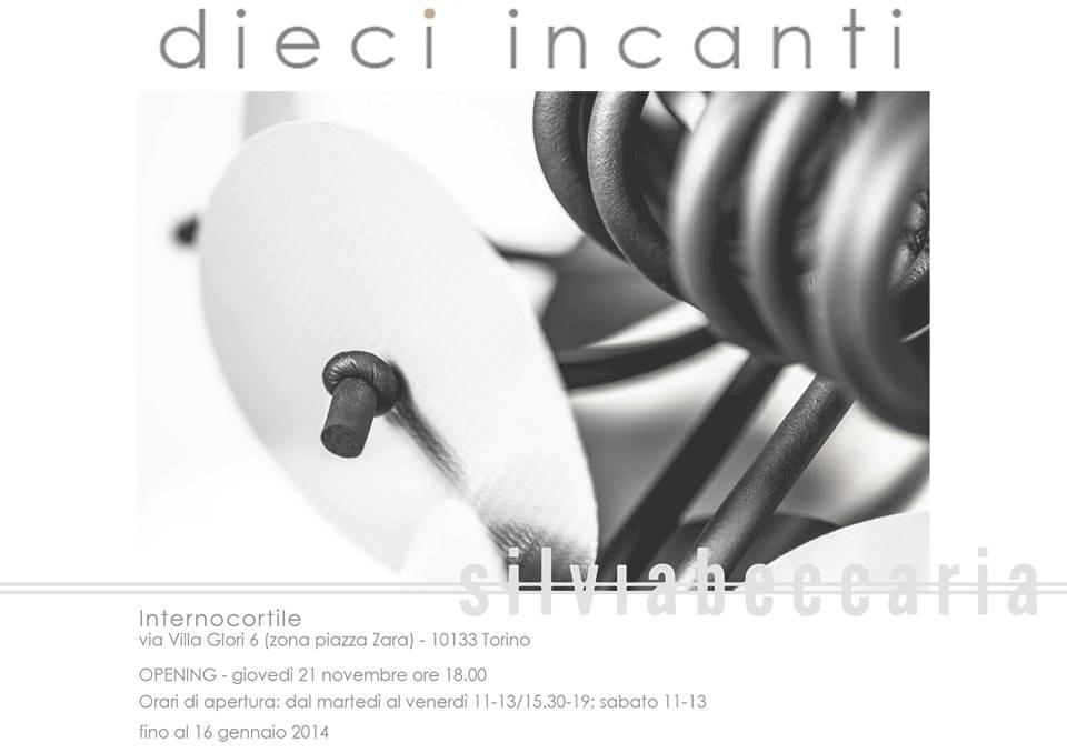"""Mostra """"Dieci incanti"""", Internocortile – 21.11.2013"""