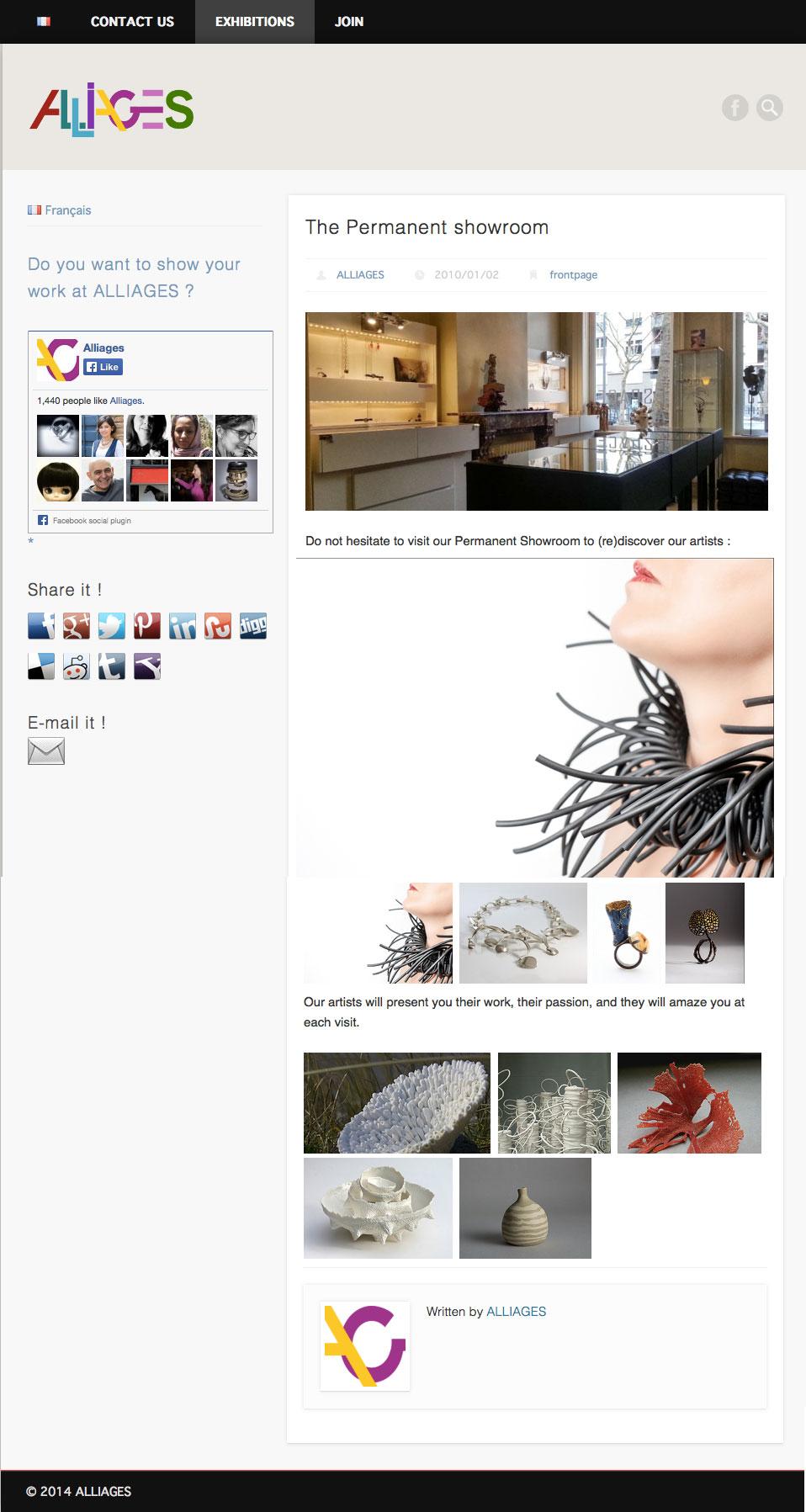 Alliages, alliages.org – febbraio 2014