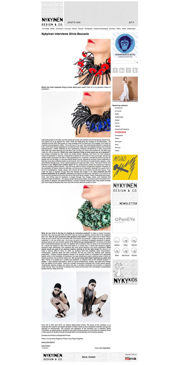 Nykyinen Design & CO. – 27 03 2015
