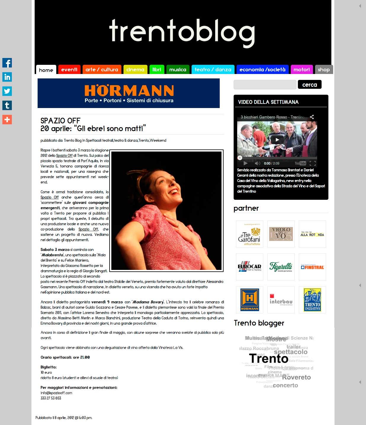 Trentoblog – 18.04.2012