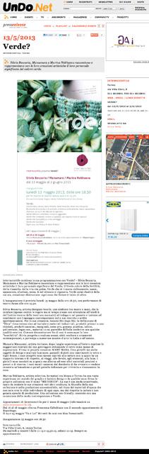 UnDo.Net maggio 2013